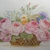 Corbeilles de roses