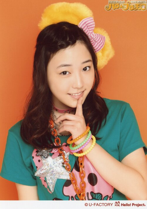 Mizuki Fukmura 譜久村聖 Hello! Project 2012 WINTER Hello☆Pro Tengoku ~Rock-chan~ & ~Funky-chan~: