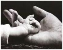 Prendre un enfant par la main par Morganne