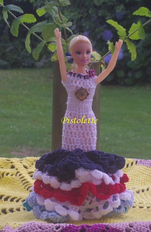 L'avancée de Marlyse.B,Winny Micat et Pistolette  pour Barbie Caméléon (4)