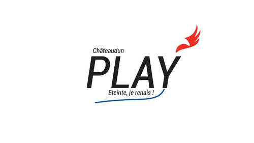 Deux logos (Play Châteaudun et JobsChateaudun) - Châteaudun 2020