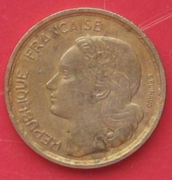 10 Francs Guiraud 1963   avers