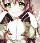 Kit kawaii girl but horrible rabbit