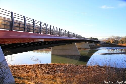 Nouveau pont  Pertuis  2016