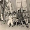 avec soeurs sylviane,violette frère lionel