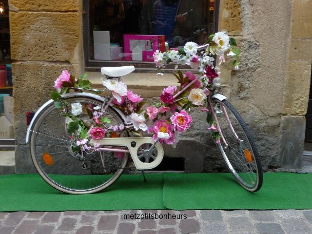 Histoire drôle: ...à bicyclette....