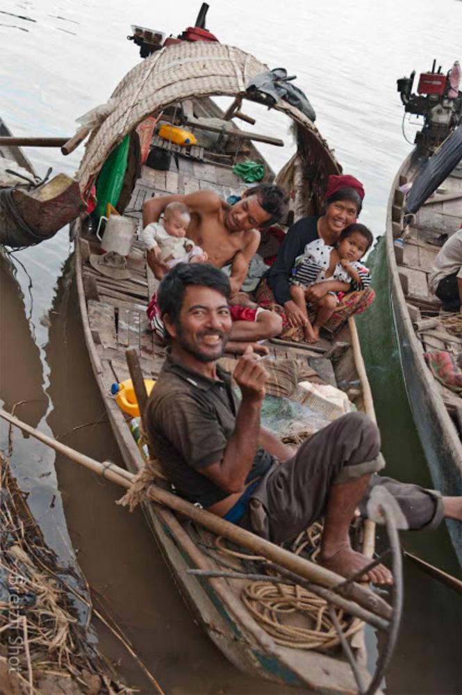 Les pêcheurs de Kampong Cham