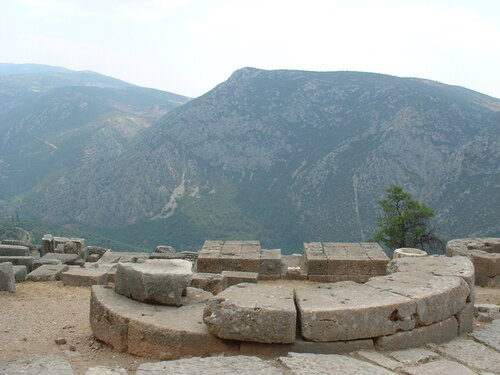 delphes en Grèce (photos)