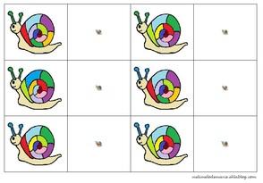 jeu de la loupe escargots