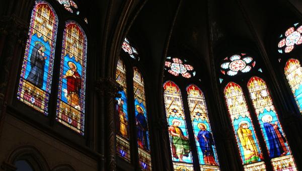 Vitraux Eglise Gésu