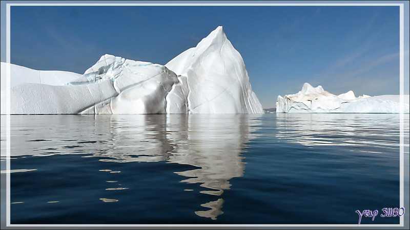 La balade se termine avec le retour vers Ilulissat - Disko Bay - Groenland