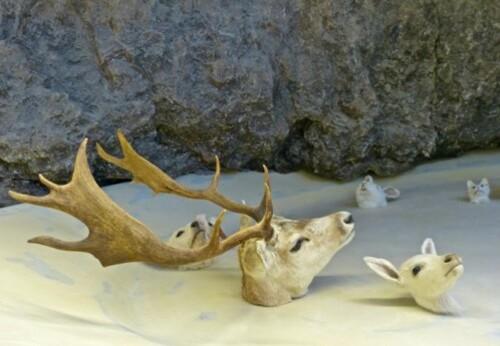 Huang Yong Ping Bugarach Mennour cerf
