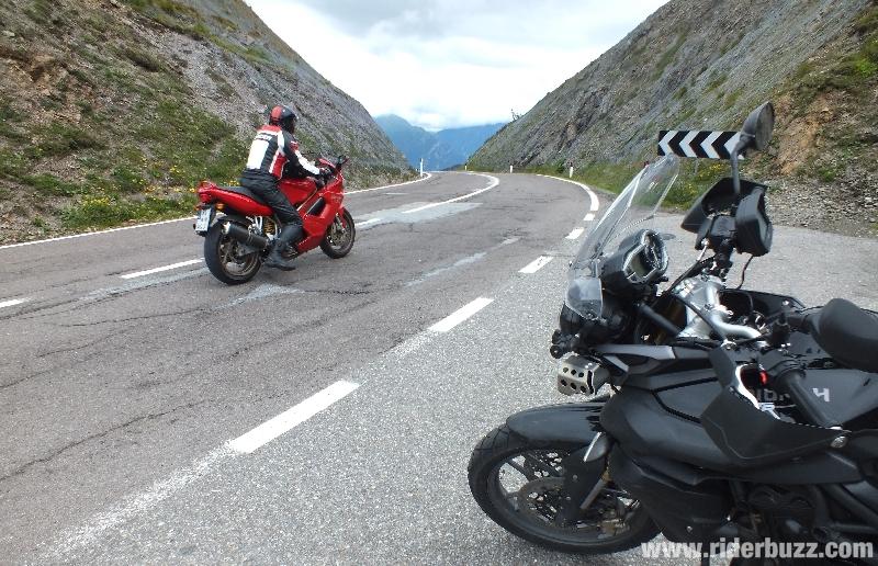 moto Tyrol Autrichien - jaufenpass