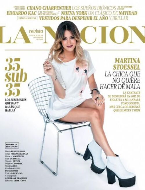 Tini photoshoot pour le magasine La Nacion