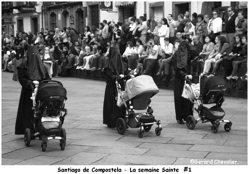 Santiago - La  Semaine Sainte.  (1 photo)