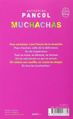 Chronique du livre {Muchachas, Tome3} de Katherine Pancoll