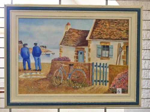 Les autres peintures de Jean-Pierre Loget ,exposées aux Bénédictines début août 2011..