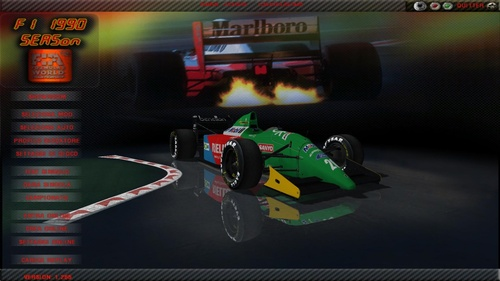 Benetton - Ford Cosworth HBA4 3.5 V8