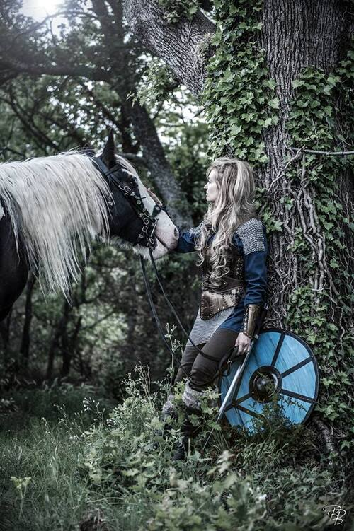Shooting Lagertha