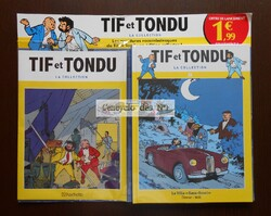 N° 1 Tif et Tondu la collection BD - Test