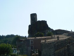 Randonnée à Mirabel (Ardèche)