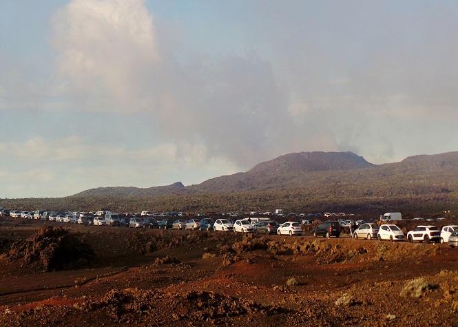 Des embouteillages tous les soirs au Volcan