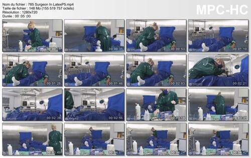 Chirurgie pour un patient 5