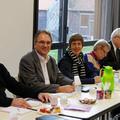 Novembre 2013 : réunion de travail avec Bargteheide à Déville