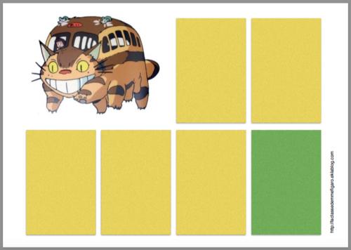 Totoro : support de jeu