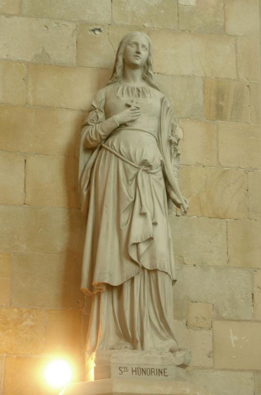 Sainte Honorine de Graville, Vénérée dans les évêchés de Bayeux et de Rouen (4ème s.)