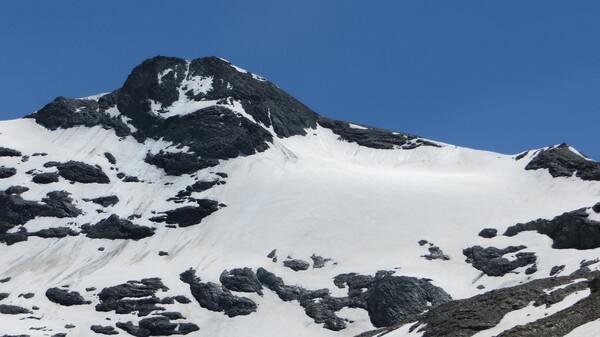 Glacier des Fours et Pointe Méan Martin