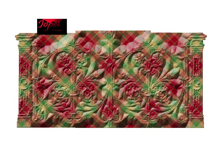 Kit à carreaux vert et rouge