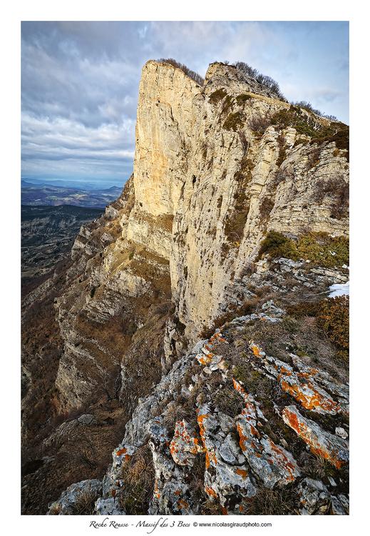 Roche Rousse, le Bec oublié du massif de Saoû!