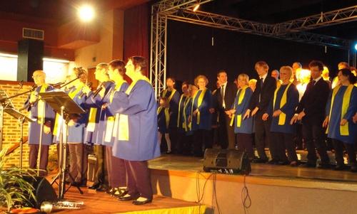 Concert Gospel à Courrières le 15 avril 2011
