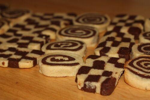 Chessboard Cookies