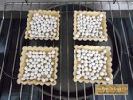 Tartelette aux framboises et chocolat blanc