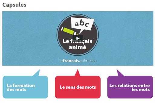 Français animé
