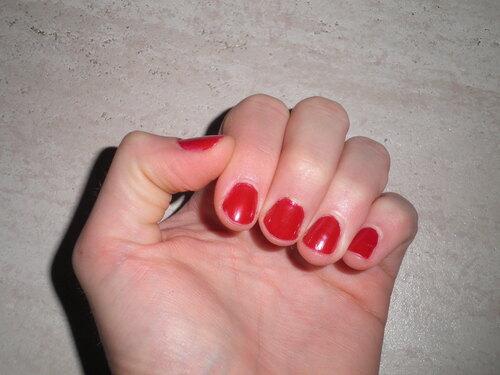 Le rouge j'adore !