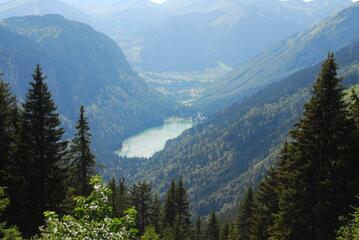 Le lac de Montriond.