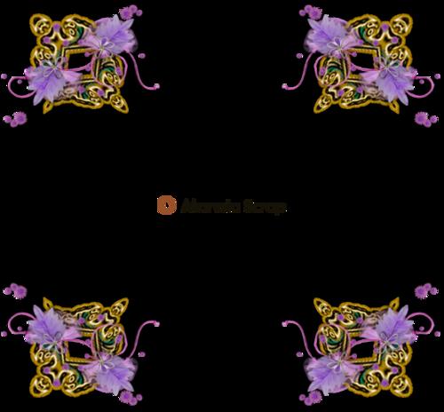 Coins de fleurs 1