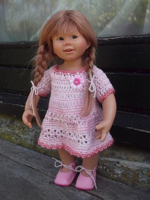 Une nouvelle robe pour Clothilde