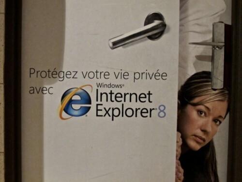 publicité affiche toilettes Windows 1