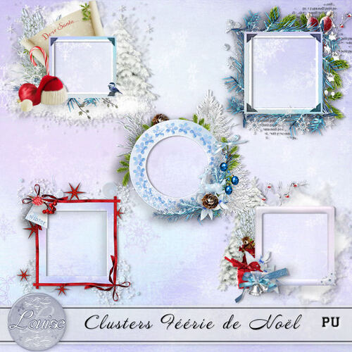 Clusters Féérie de Noël