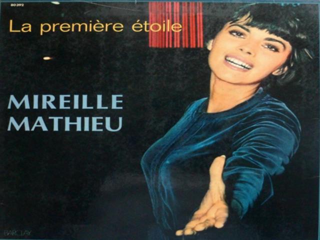 La première étoile **Mireille Mathieu**