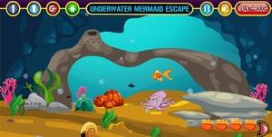 Jouer à Underwater mermaid escape