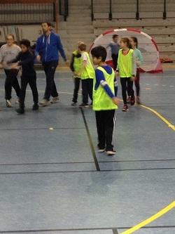 Tournoi de handball au centre nautique