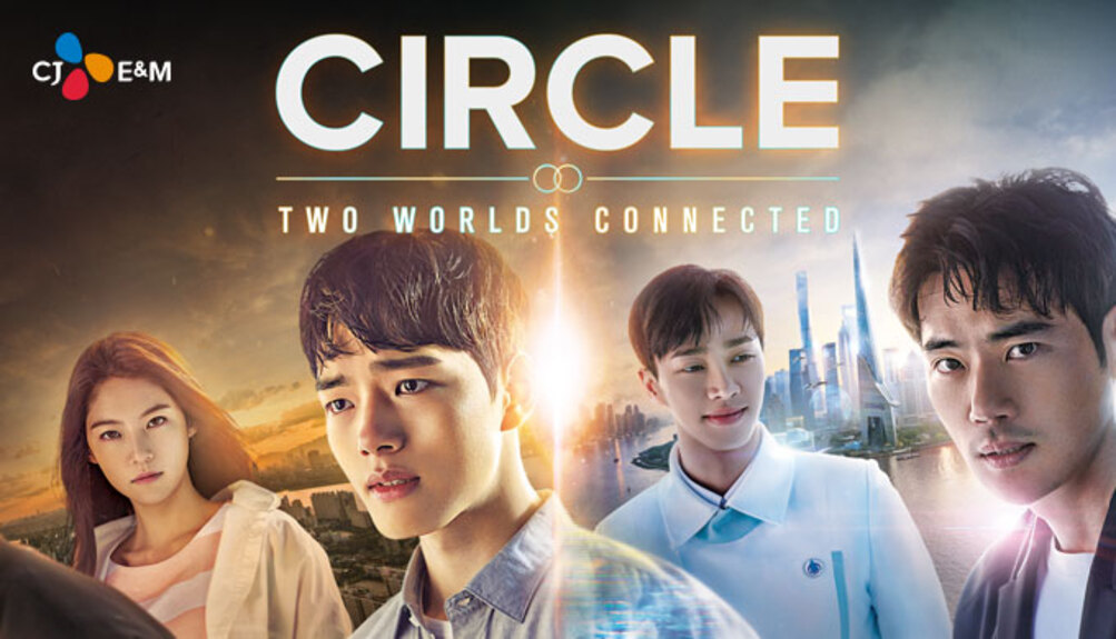 Circle : Two connected worlds