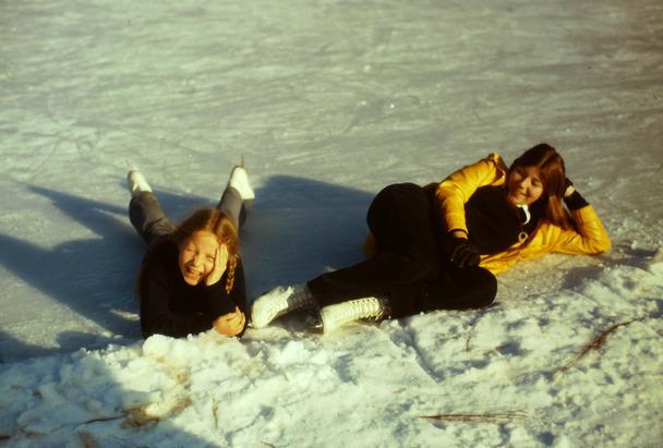 Au bord du chemin... l'étang gelé