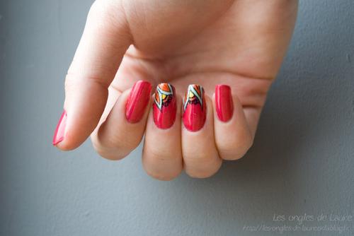 Nail art inspiration mandala