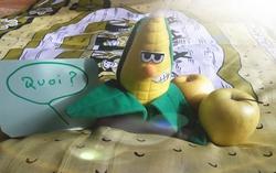 Les blagounettes du Chat-Pitre : Elvis le maïs.